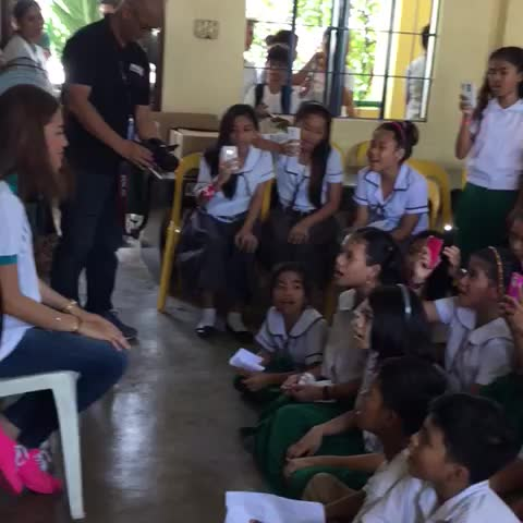 Vine by Julie Anne San Jose - Immersion and jamming with the kids @ Catmon Integrated School. Deeply touched. @worldvisionPH