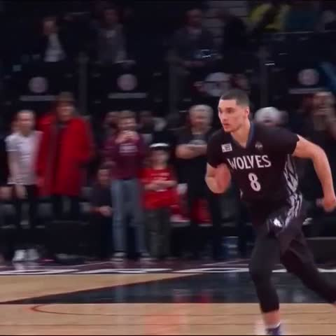Vine by NBA on TNT - Zach Lavine Dunk 2