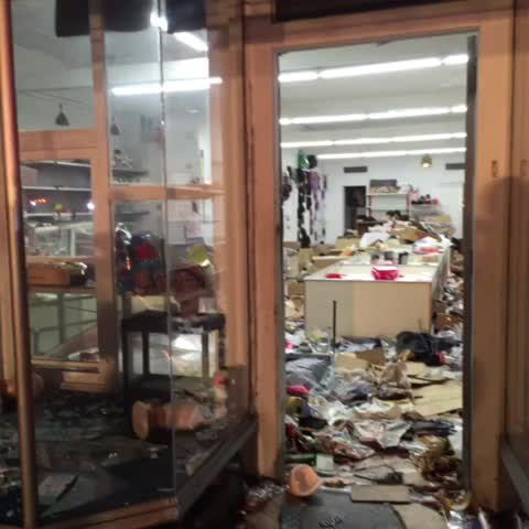 Vine by roosevelt leftwich - Looted store at 2111 west Pratt st ABC2NEWS #GMM2