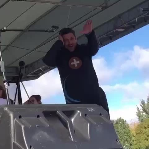 Vine by Patrick Dempsey Edits - PATRICK DANCING TODAY 😂😍