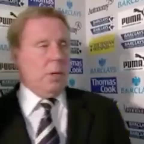Vine by Simply Spurs - When you leave the club you manage due to knee surgery.