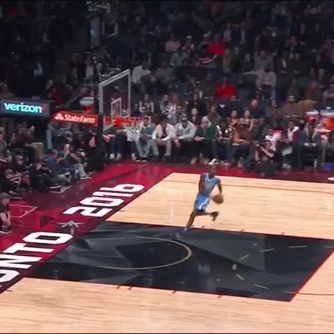 Vine by NBA on TNT - Will Barton Dunk 1