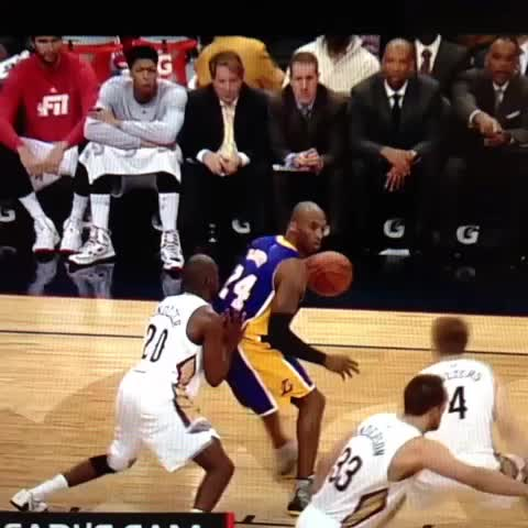 Even one-handed, Kobe is ridiculous - Vine by Jacob Rude - Even one-handed, Kobe is ridiculous