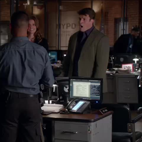 Vine by Castle_ABC - Were flashing back to when #Castle outed himself as a @onedirection fan. #FlashbackFriday
