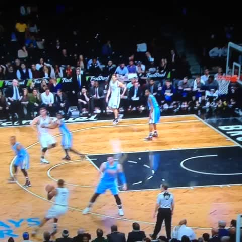 Vine by Anthony Puccio - Joe Johnson broke Nurkics ankles, knees and entire body