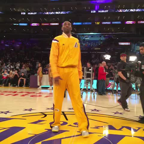 Congratulations Mamba. - Vine by Lakers - Congratulations Mamba.