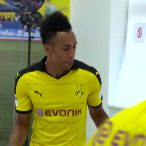 Vine by Borussia Dortmund - Lets dance, Aubameyang7! 😎
