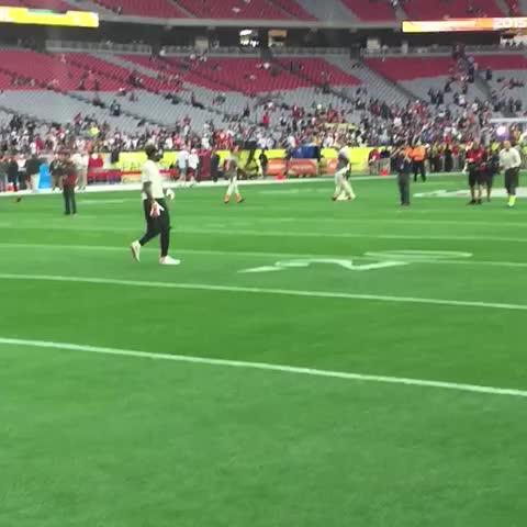 Odell Beckham Jr ONE-HANDED!!  #ProBowl - Vine by NFL on ESPN - Odell Beckham Jr ONE-HANDED!!  #ProBowl