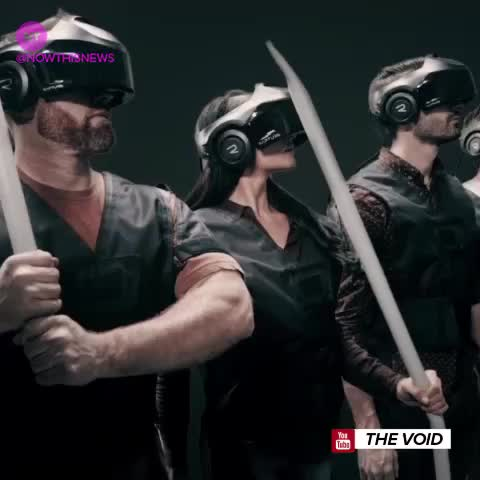 Vine by NowThis - The Void is a virtual reality theme park set to open in Utah, where you can explore virtual worlds and play games against other people.