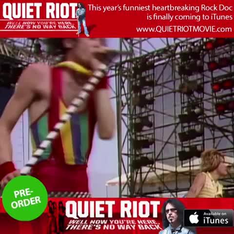 """Vine by R2D2 - Quiet Riot """"Crack"""""""
