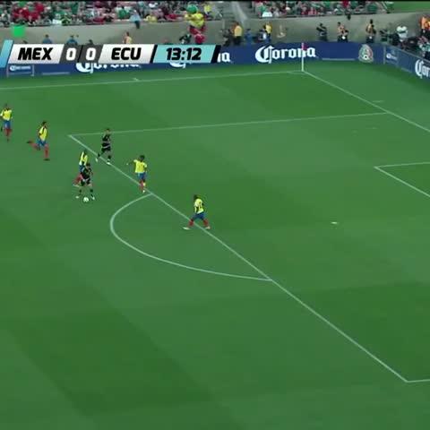 "Vine by FEMEXFUT - Golazo de Javier ""Chicharito"" Hernández al minuto 13"