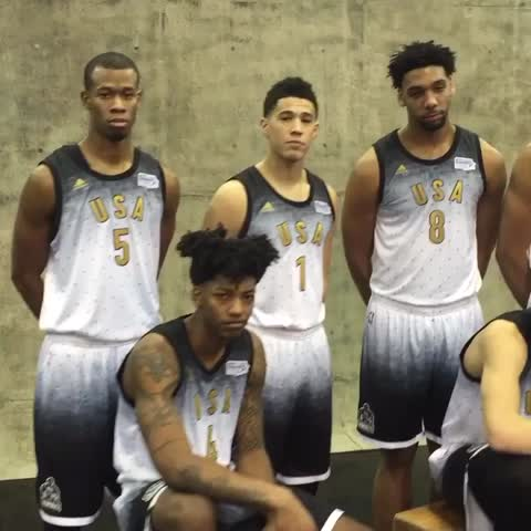 Vine by NBA - Retweet if your jammin with the US team. #BBVARisingStars tonight on TNT 9pm/et