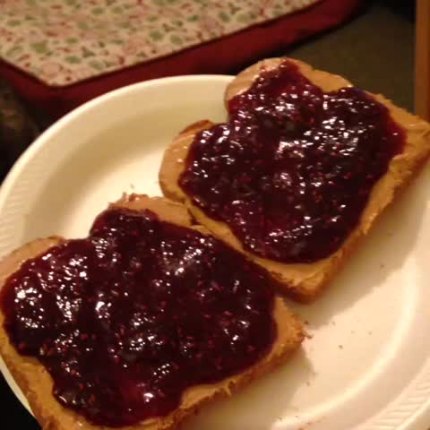 Vine by THAT GUY ROWE - Any time I go to eat something... (with Remy) #somebodyswatchingme #michaeljackson #pbj #hungrypuppy #snacktime