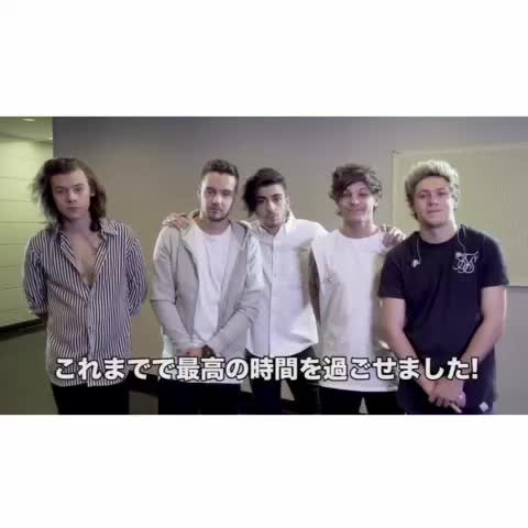 Vine by 1Dxclusive Clips - Video message from the boys ❤️