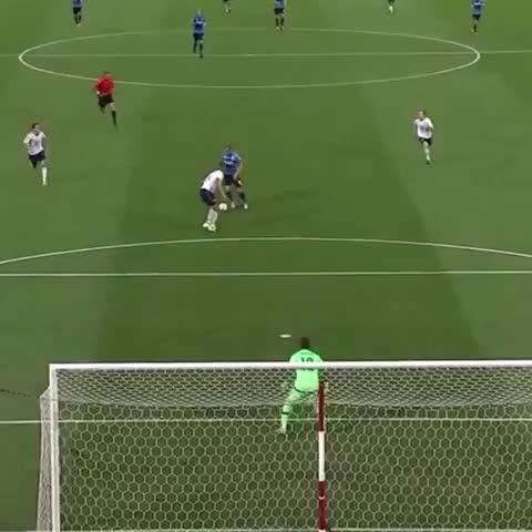Vine by MLS - Harry Kane. Good soccer player. #MLSAllStar