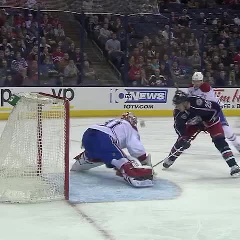 Vine by NHL Blue Jackets - REPLAY: The goal that wasnt :( #CBJ