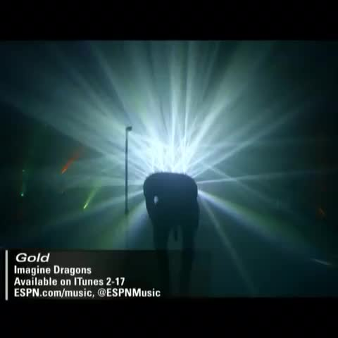 """Vine by SportsCenter - Imagine Dragons will join SportsCenter on Saturday from Arizona in 10 ET hour. Heres a peek at their new song, """"Gold,"""" to get you excited."""