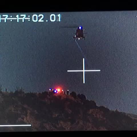 Hiker rescue right now at #GriffithPark. #LosAngeles @NBCLA - Kenny Holmess post on Vine