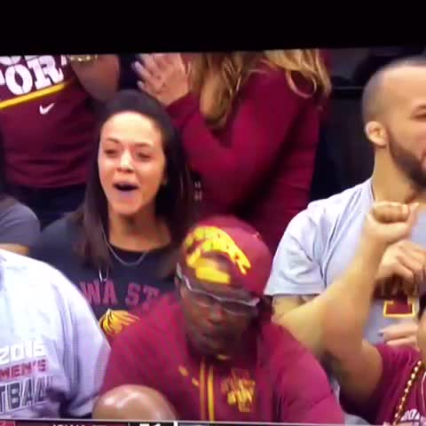 When you realize Iowa State basketball is less than a month away #cyclonenation - Vine by Micah Hales - When you realize Iowa State basketball is less than a month away #cyclonenation