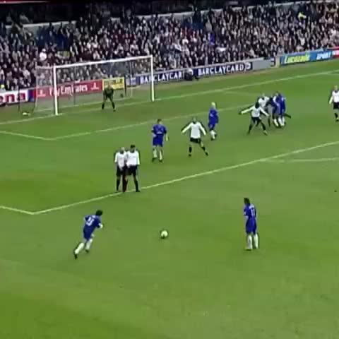 Vine by Chelsea FC - Gianfranco Zola for #Chelsea v Tottenham in 2003... #CFC #ChelseaFC