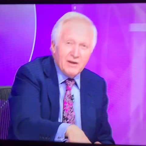 Vine by Alun Saunders - Oh dear... Mr Dimbleby. That was AWFUL. BBC Question Time  #BBCQT #Llanelli #Sgymraeg