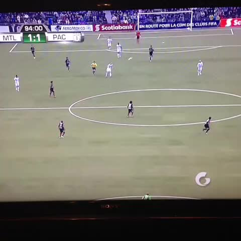Vine by Total MLS - Porters last second goal sends Montreal to the Champions League semifinal.