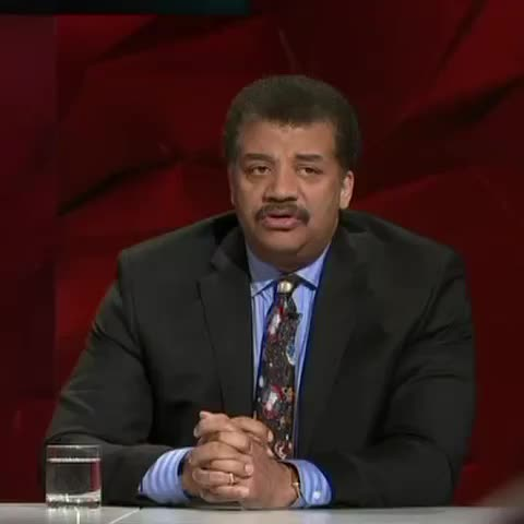 """Vine by ABC News - Neil deGrasse Tyson says the """"Sputnik goal"""", the next moon landing moment he would like to see, is for humanity to colonise space."""