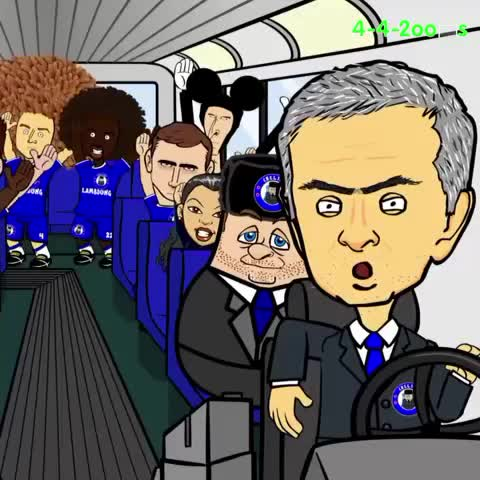 Vine by Jose Mourinho - JJJoses bus