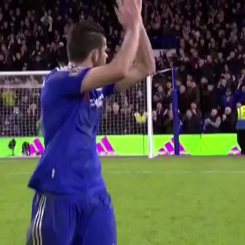 Vine by Chelsea FC - Diego Costa after Chelsea 1-1 Man Utd...