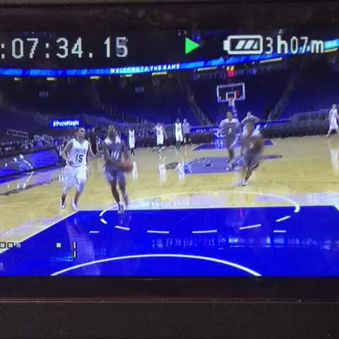 Vine by Home Team Hoops - Corey Sanders throwing down the off the board Oop at the Amway Center today