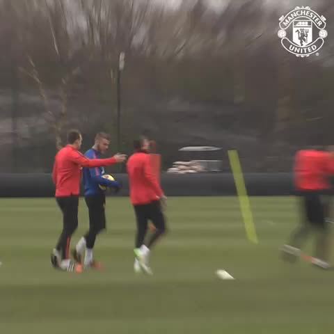 VINE: Liverpool vanquished and six successive wins - no wonder the lads are smiling in training. #mufc - Vine by Manchester United - VINE: Liverpool vanquished and six successive wins - no wonder the lads are smiling in training. #mufc