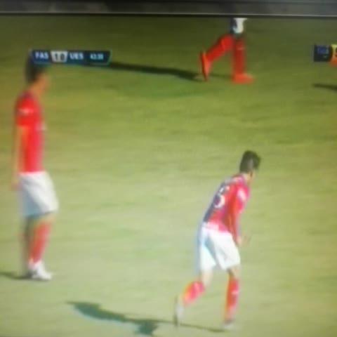 Vine by EL GRÁFICO - #LMF | Gol de Alexander Larín. FAS 1-0 UES