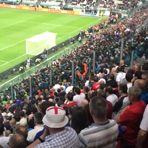 Vine by Richard Serowka - Fuck your Mexican Wave #englandfans #awaydays