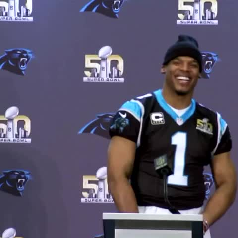 "Vine by SportsCenter - ""Oh Cam, dab for me."""