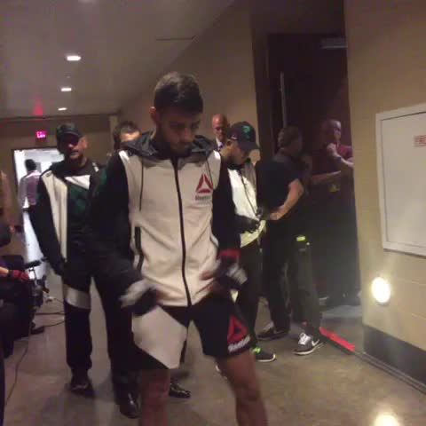 Rising star @PanteraUFC ready to take the Octagon! #UFC192 - Vine by UFC - Rising star @PanteraUFC ready to take the Octagon! #UFC192