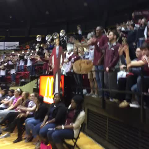 Students remind you to make some NOISE Warhawk fans. #TalonsOut - Vine by ULM_Warhawks - Students remind you to make some NOISE Warhawk fans. #TalonsOut