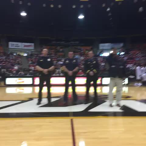 Vine by ULM Warhawks - A huge thank you to our First Responders and all that you do to make ULM a great place to be! #TalonsOut #FillFant