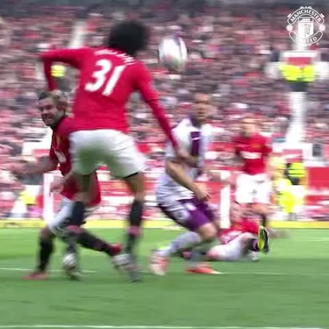 Vine by Manchester United - One year ago today, Juan Mata scored his first goal for #mufc.