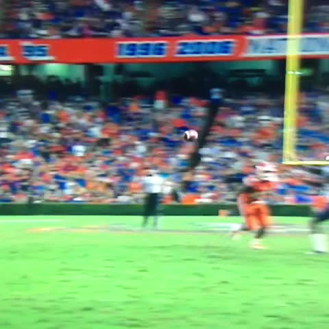 Florida #Gators S Keanu Neal hit a receiver with a SPEAR so hard he hurt himself. Incompletion forced. - Vine by OnlyGators.com - Florida #Gators S Keanu Neal hit a receiver with a SPEAR so hard he hurt himself. Incompletion forced.