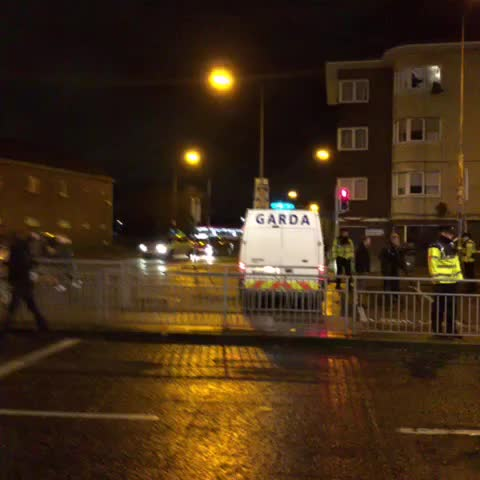 Vine by Ronanduffy09 - Scene in Dublins North Inner City after shooting dead of Eddie Hutch.