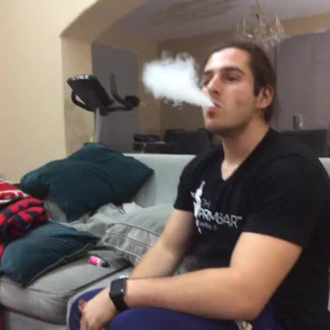 Vine by Chris Melberger - that relatable moment when you decide you want to grab your friends vape cloud ???????? (w/ Julien Solomita)