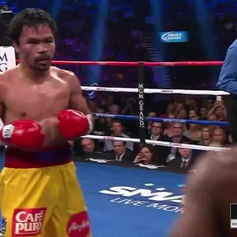 Vine by WHAMMY! - PACMAN DOING WORK #pacman #Mayweather #boxing #ppv #MayweatherPacquiao #mmg #ko #knockout