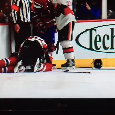Vine by Andrew Symes - When the going gets tough, P.K. Subban turtles. #Habs #Sens #Montreal #Ottawa #hockeyhighlights #hockey #nhlplayoffs #canadiens #subban