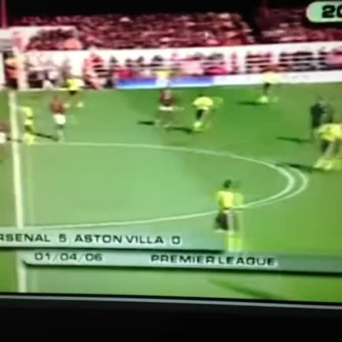 Vine by Christian Escobar - #ThierryHenry Arsenal 5-0 AstonVilla 01-04-06
