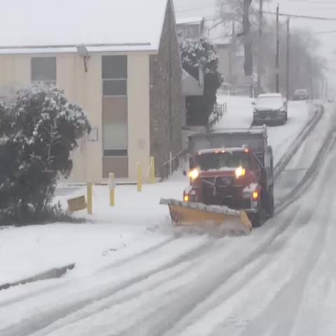 Plows working in Worcester #wcvb #snow - John Atwaters post on Vine