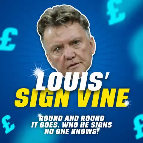 Vine by Coral - Pause this vine to create your own Man United transfer rumour!