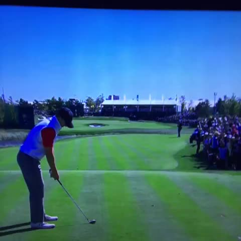 "Someone yelled ""how bout them Cowboys!"" After Spieth hit ... In South Korea - Vine by Shane B - Someone yelled ""how bout them Cowboys!"" After Spieth hit ... In South Korea"