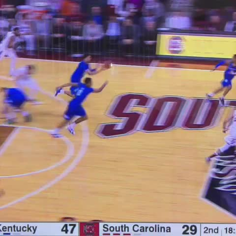Vine by Rob Dauster - Ulis to Lee off the glass