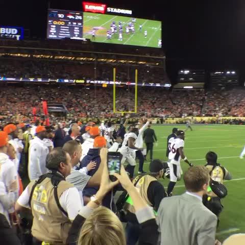 Vine by Denver Broncos - We did it!!! #SB50