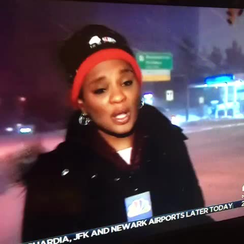 Vine by Alex Fitzpatrick - This #NBC4NY reporter almost had a bad night